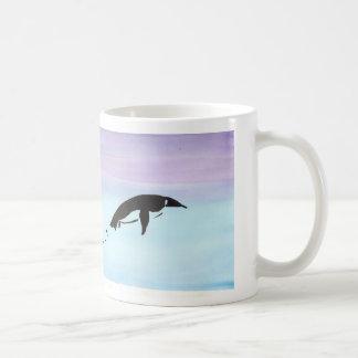 Mug Pingouin de natation