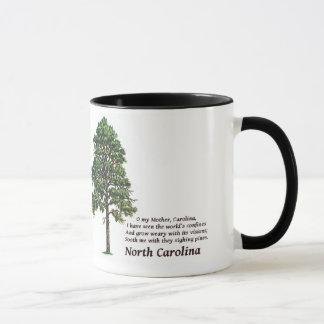 Mug Pins de soupir de la Caroline du Nord