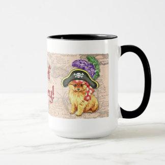 Mug Pirate de Pomeranian