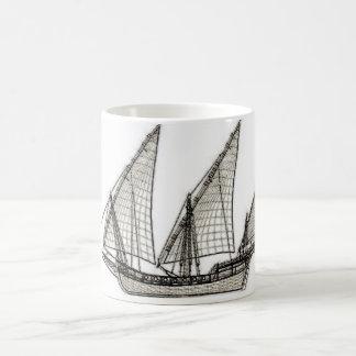 Mug pirate de voilier