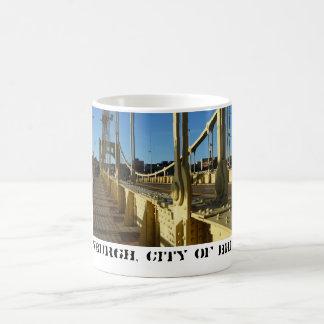 Mug Pittsburgh, ville des ponts