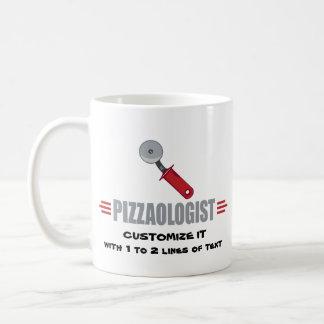Mug Pizza drôle d'amour d'I