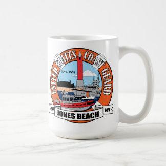 Mug Plage New York de Jones de station de la garde