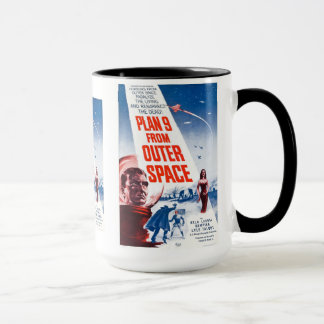 Mug Plan 9 d'espace extra-atmosphérique