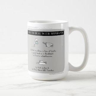 """Mug Planète de HP5075 """"Harold"""" """"comment traiter lundi"""