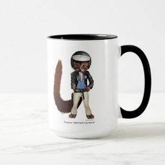 Mug Playpussy - cannette de fil de moto Marvin