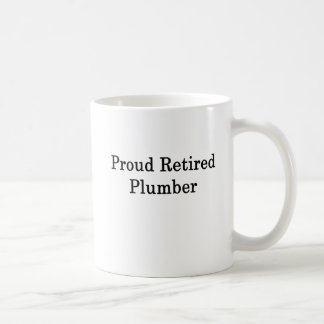 Mug Plombier retraité fier