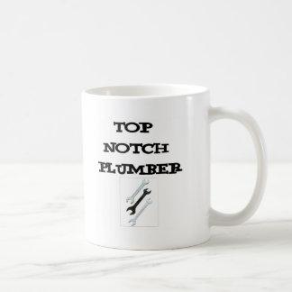 Mug plombier supérieur d'entaille