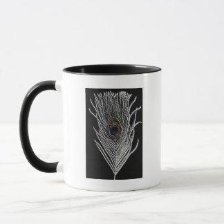 Mug Plume noire de paon