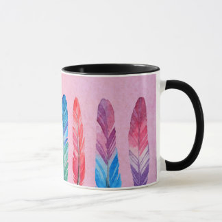 Mug Plumes d'aquarelle