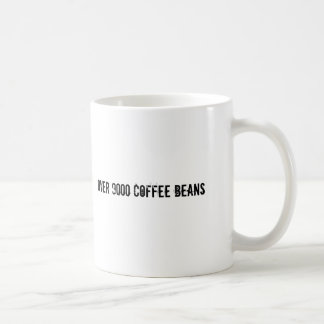 Mug Plus de 9000 grains de café