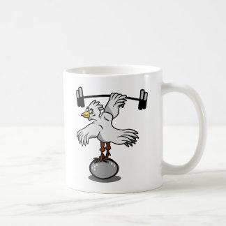 Mug Poids de levage de poulet