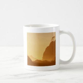 Mug Point de coucher du soleil des voûtes olympiques
