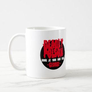 Mug Poison mortel. Boisson à votre propre risque