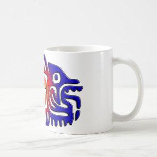 Mug Poissons antiques de conception du Mexique