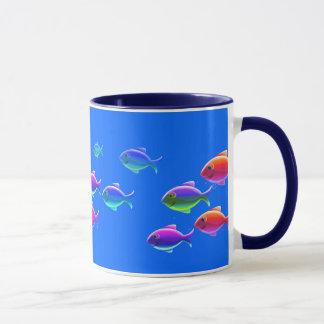 Mug Poissons de natation