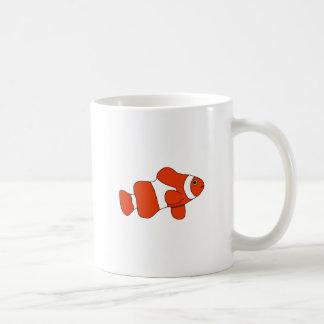Mug Poissons oranges lumineux de clown