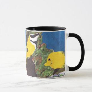 Mug Poissons tropicaux