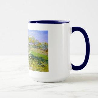 Mug Pommiers En fleur, Claude Monet 1873