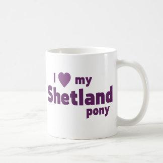 Mug Poney de Shetland