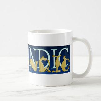 Mug Poney flexible islandais d'alphabet