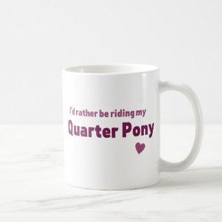 Mug Poney quart
