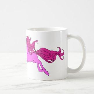 Mug Poney rose