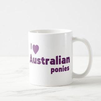 Mug Poneys australiens