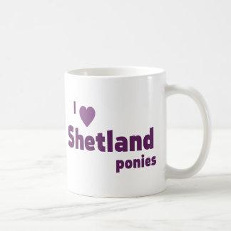 Mug Poneys de Shetland