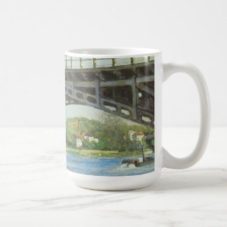 Mug Pont à Argenteuil par Gustave Caillebotte