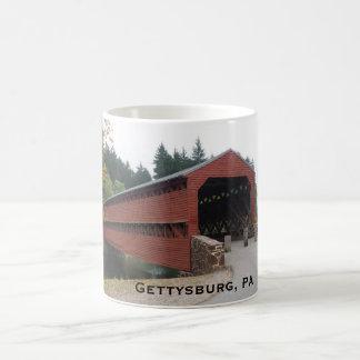 Mug Pont couvert de Sachs près de PA de Gettysburg