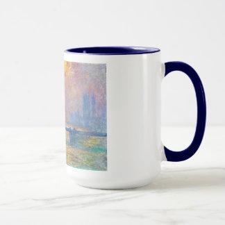 Mug Pont croisé de Charing, la Tamise, Claude Monet