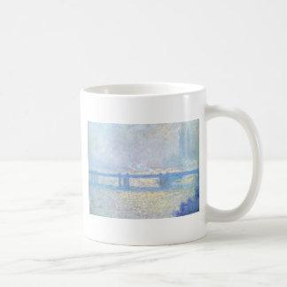 Mug Pont croisé de Charing, temps obscurci par Claude
