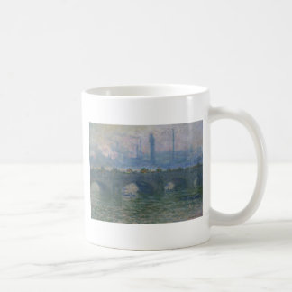 Mug Pont de Waterloo par Claude Monet