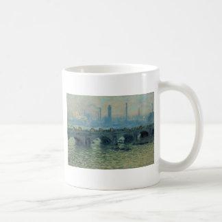 Mug Pont de Waterloo, temps gris par Claude Monet