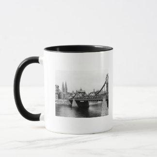 Mug Pont de Weser, Brême, c.1910