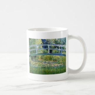 Mug Pont d'étang de lis - insérez votre animal