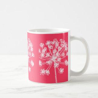 Mug Popart rose floral