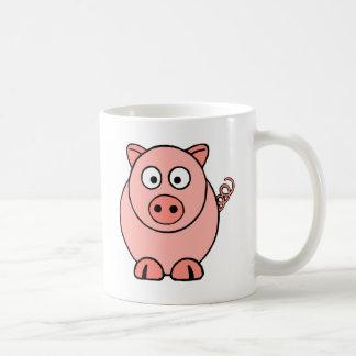 Mug Porc rose