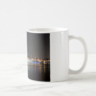 Mug Port de Hambourg la nuit