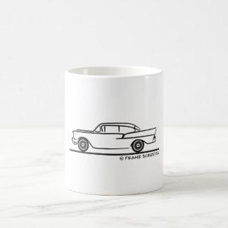 Mug Porte 1957 de la berline deux de Chevrolet 5-10