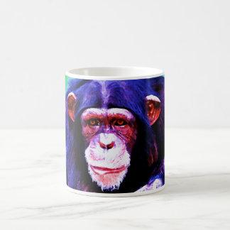 Mug Portrait de chimpanzé