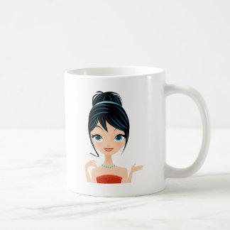 Mug portrait de fille