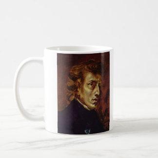 Mug Portrait de Frederic Chopin par Eugene Delacroix