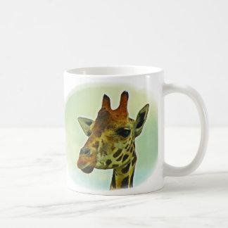 Mug Portrait de girafe