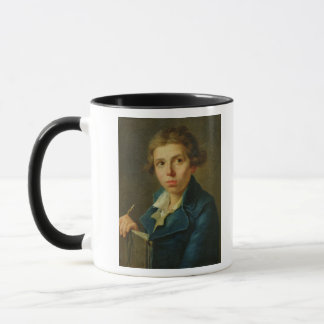 Mug Portrait de Jacques-Louis David comme jeunesse
