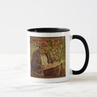 Mug Portrait de John Maynard Keynes (1883-1946) (huile