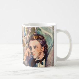 Mug Portrait de musicien de compositeur de Frederic