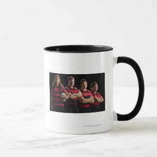 Mug Portrait de studio de l'équipe masculine de rugby
