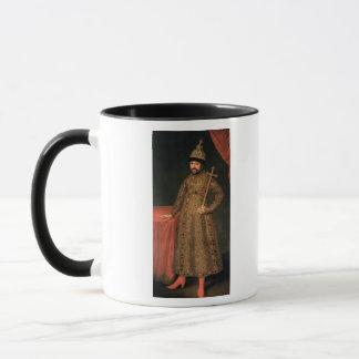 Mug Portrait de tsar Michael III Fyodorovich, 1728